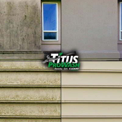 Examples of House Washing Before & After